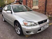 2002 Lexus IS 200 Auto Low Miles Drives Superb. Full MOT. Automatic