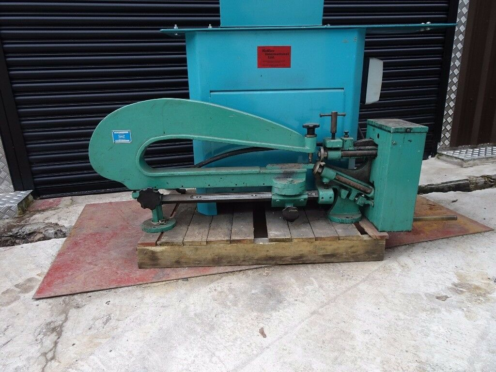 FROST MODEL 283 HAND OPERATED CIRCLE CUTTING MACHINE