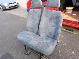 Transit bench seat