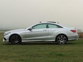 CHEAPEST IN THE UK - Mercedes E400 Coupe AMG Sport Plus - PX, Swap, WHY, Damaged