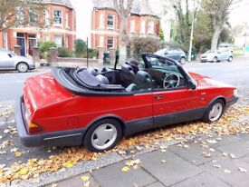 Saab 900 Turbo 16S Classic Convertible for sale.