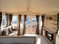 DOUBLE GLAZED CENTRAL HEATED STATIC CARAVAN FOR SALE NORTH EAST COAST BEAUTIFUL SEA VIEWS