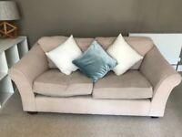 M&S three-seater sofa