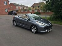 Peugeot 207 CC 1.6 16V Sport 2Dr [Leather]NEW TIMING CHAIN 86k miles jan mot Service history a/c