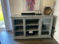 IKEA Liatorp sideboard & 2 side tables in Grey
