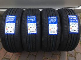 Set of 4 205 55 16 landsail tyres brand new LS388 landsail m+s