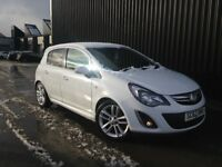 2013 (62) Vauxhall Corsa 1.2 i 16v Limited Edition 5dr (a/c) Cheap To Run & Insure 12 Months MOT