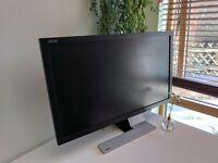 "Premium 27"" LED full HD monitor - Acer s273hl (original price £400!)"