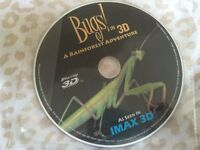 Bugs, a rainforest adventure, 3D Blu-ray