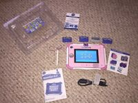 Pink VTech Innotab 3S with 3 Games. In Ex Con & Partially Boxed