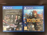 PlayStation (PS4) Games x 2