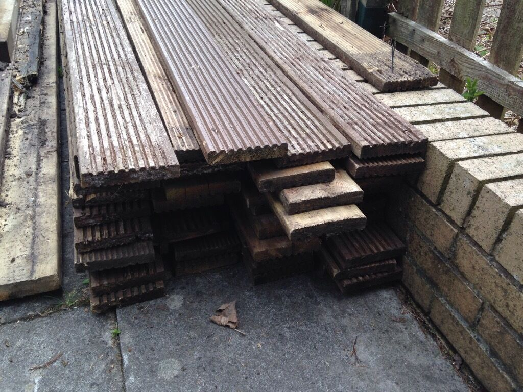 Decking boards buy sale and trade ads find the right price for Decking framework timber