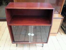 Vintage small display cabinet
