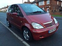 2002 Mercedes A Class A140 Avantgarde Autumn Edition 5dr, 93k, FULL MOT, FSH, HPI Clear