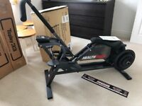 HEALTH RIDER EXERCISE MACHINE WITH MANUAL AND EXTRA WEIGHTS