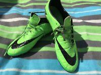Nike hypervenom football boots UK 9
