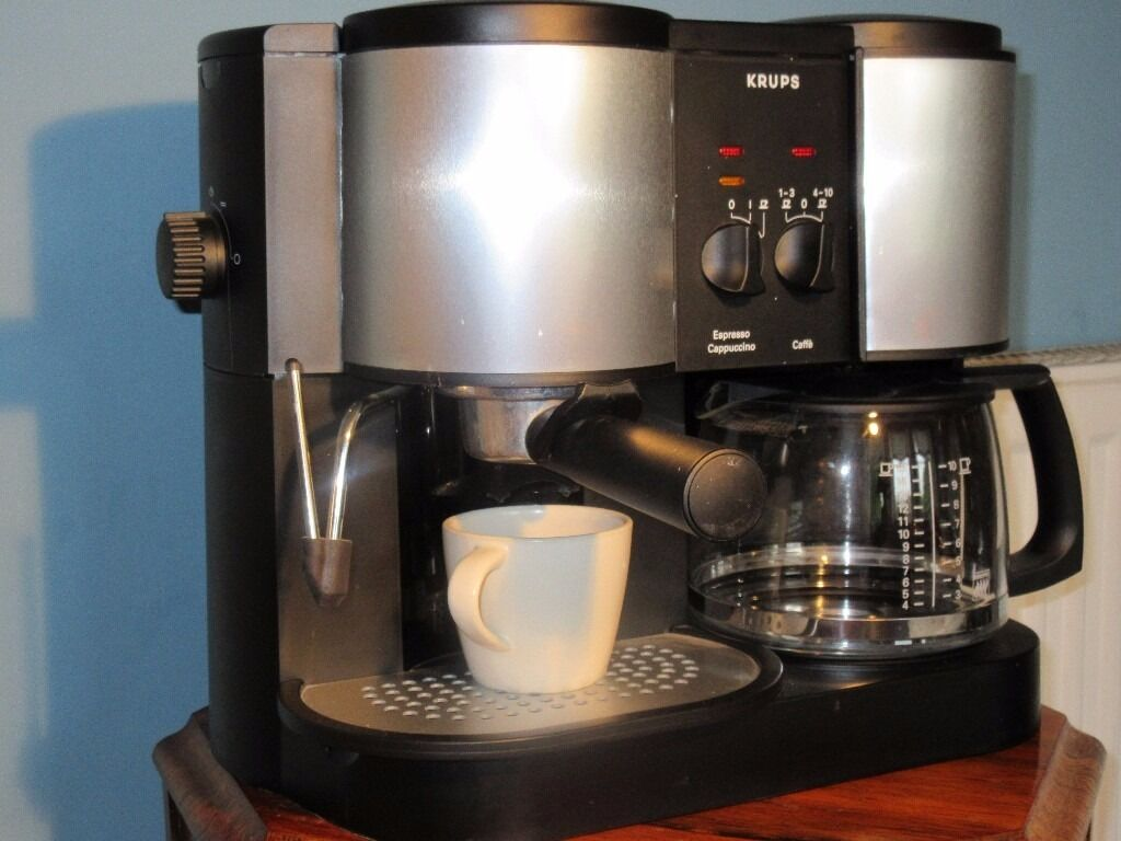krups filter coffee espresso cappuccino machine in clifton bristol gumtree. Black Bedroom Furniture Sets. Home Design Ideas
