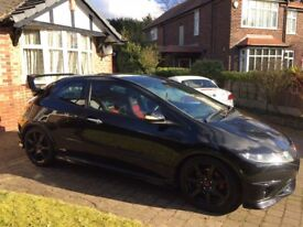 Honda civic type R GT FN2 Low mileage 80k Mugen Black