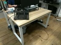 Birch top office desk (8 available)
