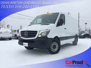 2015 Mercedes-Benz Sprinter 2500 CAMRÉRA DE RECUL ATTACHE REMORQ