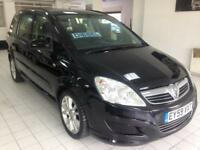 2009 59 Vauxhall Zafira Exclusive 1.9 Diesel 7 seater