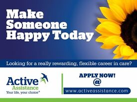 Care Assistants in Essex for children - no experience required & Part time work available