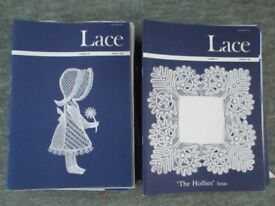 Pillow Lace Making Pattern (Magazines)