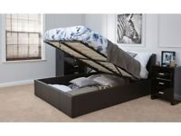 💎💎BRAND NEW💎💎BRAND NEW DOUBLE OTTOMAN STORAGE BED FRAME ( BLACK,BROWN & WHITE )