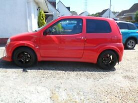 suzuki ignis sport excellent condition lots spent on it,all new brakes/discs/pads/tyres lots more