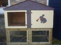 rabbit hutch two storey