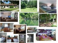 Holiday Bungalows to rent in Cornwall, Sleeps 4 Hengar Manor Park