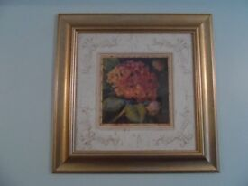 Limited edition print in glazed mounted frame