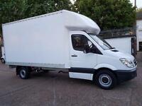 (( NO VAT )) MERCEDES SPRINTER LUTON LWB ,YEAR 2009 IN EXCELLENT CONDITION IN AND OUT