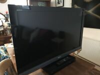 Sony 40 inch Bravia tv with blu ray DVD player