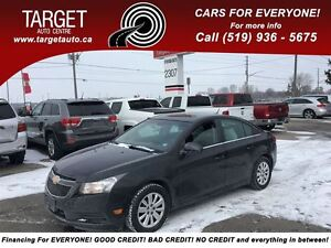 2011 Chevrolet Cruze LT Turbo w/1SA, Drives Great Very Clean !!!