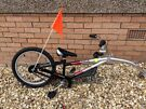 childs tagalong bike - wee rider le co pilot - suit age 4-8 years approx