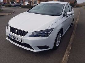 Seat Leon 1.6 TDI Full main dealer service history, great condition