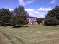 Traditional 2/3 bedroom Farm Cottage with equestrian possibilities (Corse Tarland) 695 p/m.