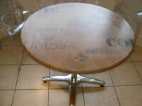Bistro table - unusual- ideal for kitchen/diner