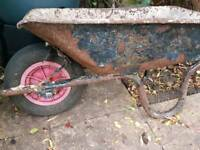 Wheelbarrow Old but Still Ok