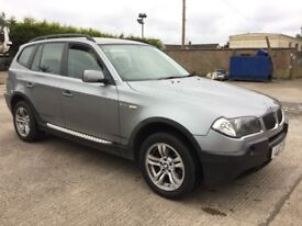 "05 BMW X3 2.0D SE ""FULL MOT"" P/EX WELCOME"