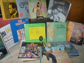 vinyl LPs, about 55 - classical, musicals and misc