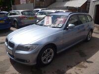 BMW 318D,stunning turbo diesel estate ,1 previous owner,2 keys,full MOT,runs and drives very nicely,