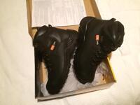 Sterling steel toe cap boots