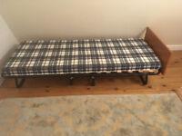 Single Bed & Mattress - Foldaway