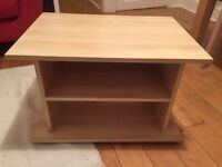 Ikea TV Bench / Shelving Unit / Side Table in Beech