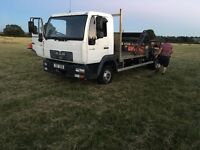 Man flatbed,excellent condition