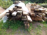 Large timbers 4.8m long