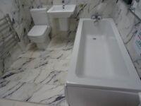 £646 Ex-Display RAK Ceramics & Carron Full Bathroom Suite