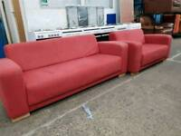 3 seater sofa with matching 2 seater